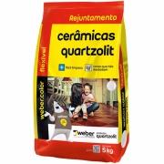 Imagem de Rejunte Flexível Weber Caramelo Saco/5kg - Quartzolit