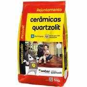 Imagem de Rejunte Flexível Weber Cinza Outono Saco/5kg - Quartzolit