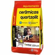 Imagem de Rejunte Flexível Weber Preto Grafite Saco/5kg - Quartzolit