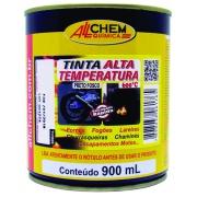 Imagem de Tinta Alta Temperatura 600°C 0,90L Preto - Allchem Química