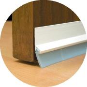 Imagem de Veda Porta Friso Adesivo De PVC 80 cm Branco - Stamaco