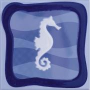 Imagem de Revestimento de Parede Brilhante Unidade 15x15cm Azul Garopaba A - Eliane