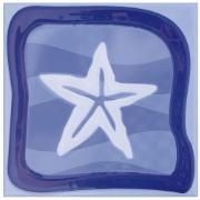 Imagem de Revestimento de Parede Brilhante Unidade 15x15cm Azul Garopaba C - Eliane
