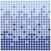 Imagem de Revestimento de Parede Brilhante Unidade 15x15cm Azul Salinas - Eliane