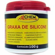 Imagem de Graxa Silicone Pasta 200ml - Allchem Química
