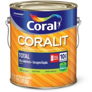 Imagem de Tinta Esmalte Sintético Brilhante Premium 3,6L - Branco Neve - Coralit Zero Coral