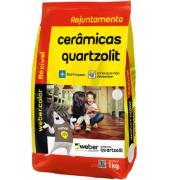 Imagem de Rejunte Flexível Weber Palha Saco/1kg - Quartzolit