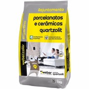 Imagem de Rejunte Porcelanato Weber Palha Saco/1kg - Quartzolit