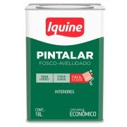 Imagem de Tinta Acrílica Fosco Econômica 18L - Branco Gelo - Pintalar Iquine