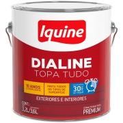Imagem de Tinta Esmalte Sintético Alto brilho Premium 3,6L - Platina - Dialine Base Água Iquine