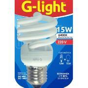 Imagem de Lâmpada Fluorescente Compacta Espiral 15W Branca E27 220V - Glight