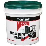 Imagem de Massa Para Madeira Mazza - Branco - Balde 6,400Kg - Montana