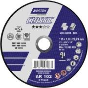 Imagem de Disco para Corte 115x1,0x22,23 mm Nor Classic - Norton