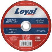 """Imagem de Disco de Corte Aço 4.1/2""""x3/64""""x7/8"""" (115x1,0x22,2mm) - Loyal"""