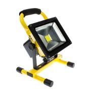 Imagem de Refletor de LED 20W Recarregável Bivolt Luz Branca - Ecoline
