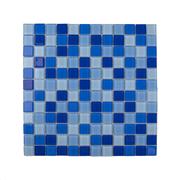 Imagem de Pastilha de Vidro Brilhante 2,3x2,3cm Azul - 4ML025-CA - Jolie