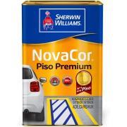 Imagem de Tinta Acrílica Fosco Premium 18L - Amarelo Demarcação - Novacor Sherwin Willians