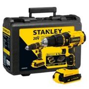 """Imagem de Furadeira e Parafusadeira a Bateria 20V 1-2"""" com Impacto Reversível Bivolt - SCH20C2K-BR - Stanley"""