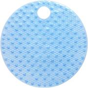 Imagem de Tapete de Banheiro de PVC 55x55 cm Azul - Bianchini