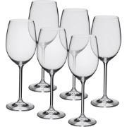 Imagem de Jogo de Taças Água/Vinho Cristal 450ml 6 Peças - Crystalite Bohemia