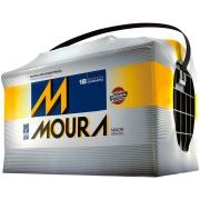 Imagem de Bateria Automotiva 12V 100Ah Polo Positivo Direito M100QD MFA - Moura