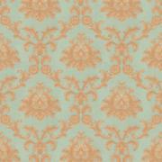 Imagem de Papel de Parede Vinílico Texturizado Arabesco Azul 55055 - Jolie