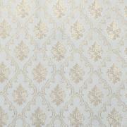 Imagem de Papel de Parede Vinílico Texturizado Arabesco Branco 55078 - Jolie