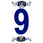 Imagem de Número 9 Cerâmica - Gabriella