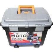 Imagem de Caixa com Suporte Plástico Baú Moto Box 2140 - Arqplast