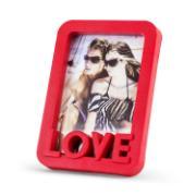 Imagem de Porta Retrato Quadrado Love Unifoto Vermelho 16x11cm - SPF-710 - Jolie