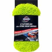 Imagem de Esponja de Limpeza Microfibra Verde - 14085 - Rodabrill