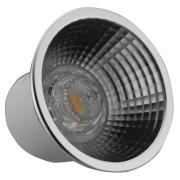 Imagem de Lâmpada LED AR70 7W Luz Amarela Rabicho Autovolt - Glight