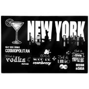 Imagem de Tábua de Frios Vidro 20x30cm New York 11302 - Decor&Casa