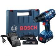 Imagem de Furadeira e Parafusadeira a Bateria 18V com Impacto Reversível Bivolt - 06019F83E0000 - Bosch