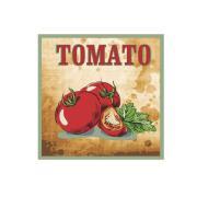 Imagem de Placa Decorativa em MDF 25x25 cm Tomato 67984 - Kapos