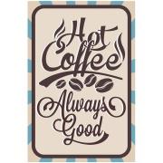 Imagem de Placa Decorativa em MDF 30x20 cm Coffee 67878 - Kapos