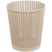 Imagem de Lixeira para Escritório de Plástico 6,0L Bege TG51185 - Bianchini