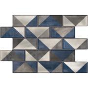 Imagem de Revestimento Siena azul Esmaltado HD Tipo A 34x50cm 1,94m² Azul - Pamesa