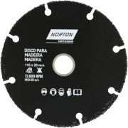 Imagem de Disco para Madeira Norton 110x20 mm - Norton