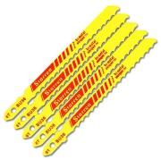 Imagem de Lâmina para Serra Tico-Tico 5 Peças Encaixe Unificado  Starrett® 8 DPP para Madeira BU8 - Starret