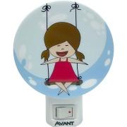 Imagem de Luminária de Luz Noturna LED Menina - Avant