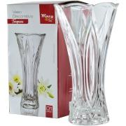 Imagem de Vaso Decorativo Texturizado Redondo Transparente 2064 - Rio de Ouro