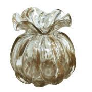 Imagem de Vaso Decorativo Vidro Redondo Murano Branco 24557 - Full Fit
