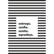 Imagem de Quadro Decorativo 20x30 cm Placas Branco 68954 - Kapos