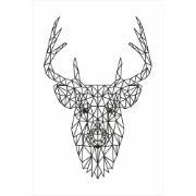Imagem de Placa Decorativa em MDF 30x20 cm Alce 68702 - Kapos