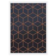 Imagem de Quadro Decorativo 73x53 cm Geométrico Branco 540994 - Euroquadros