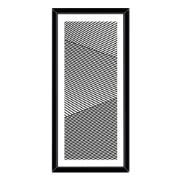 Imagem de Quadro Decorativo 73x33 cm Abstrato Preto 540697 - Euroquadros