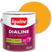 Imagem de Tinta Esmalte Sintético Alto brilho Premium 3,6L - Amarelo - Dialine Iquine