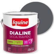 Imagem de Tinta Esmalte Sintético Alto brilho Premium 3,6L - Cinza Escuro - Dialine Iquine