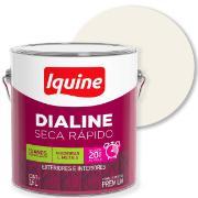 Imagem de Tinta Esmalte Sintético Fosco Premium 3,6L - Branco Neve - Dialine Iquine